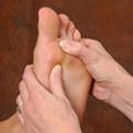 Fußreflextherapie
